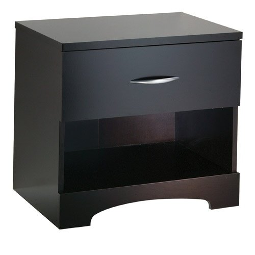 South Shore Contemporary Chocolate Night Table 3159062