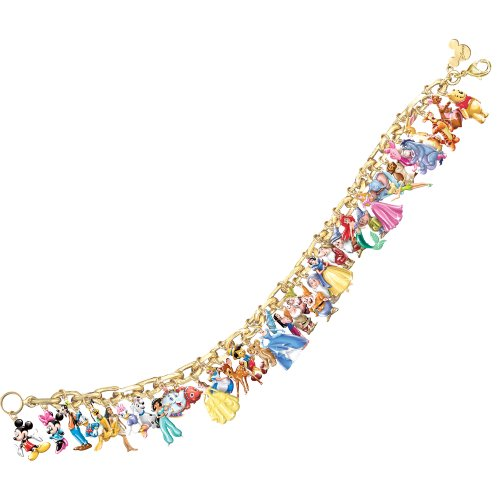 auction closed ultimate disney charm bracelet 24 carat