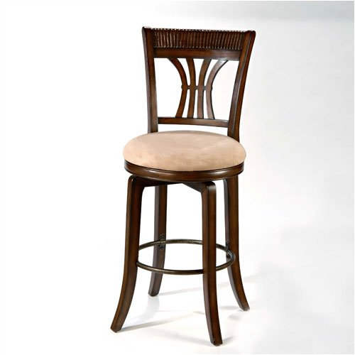 Hillsdale Furniture 4741-826 Holden 24 inch Swivel Counter Stool