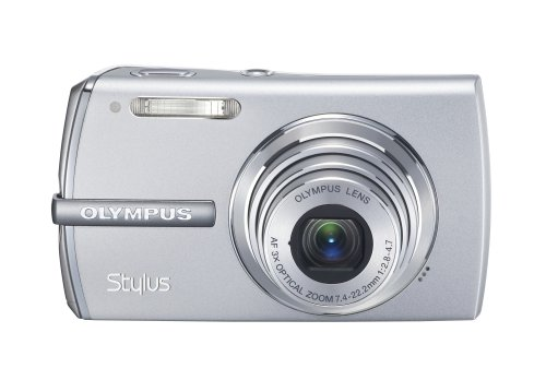 Olympus Stylus 1200 12MP Digital Camera with 3x Optical Zoom (Silver)