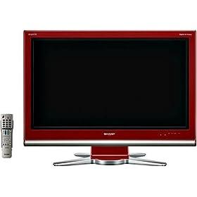 SHARP AQUOS 32V型 地上・BS・110度CSデジタル ハイビジョン液晶テレビ LC-32D10-R レッド