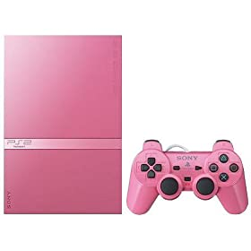 : PlayStation 2 ピンク(SCPH-77000PK)