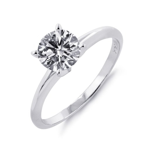 solitare diamond engagement rings