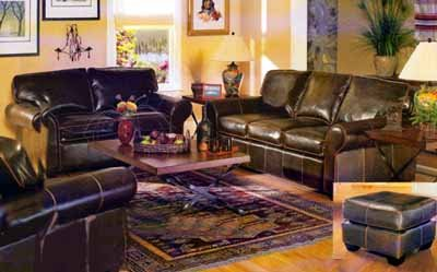 Cordoba Leather Living Room Set