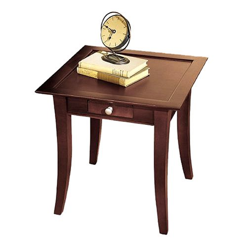 Dolce Dark Walnut End Table