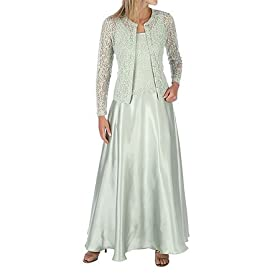 Cachet 2pc Sage Evening Gown