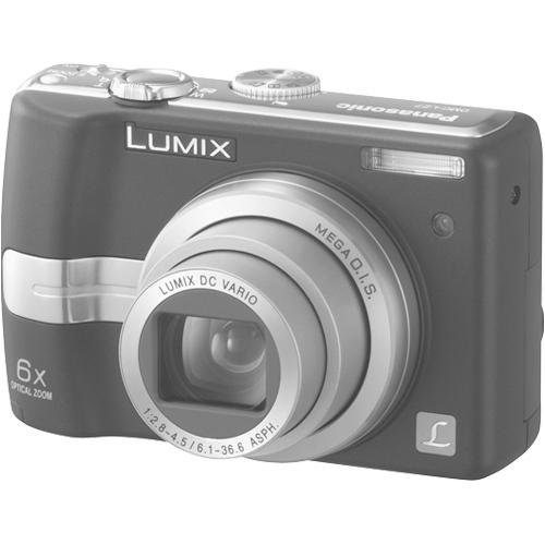 Panasonic Lumix DMC-LZ7K 7.2MP Digital Camera with 6x Image Stabilized Zoom (Black)