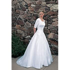 Plus Size LDS Wedding Gown