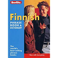 Finnish Berlitz Phrase Book and Dictionary