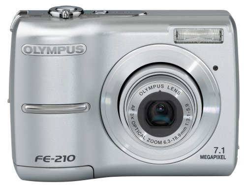 Olympus Stylus FE-210 7MP Digital Camera with Digital Image Stabilized 3x Optical Zoom