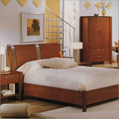 Laurier Furniture 70-B Complete Bedroom Set Legacy Split Metal and Wood Bedroom Set