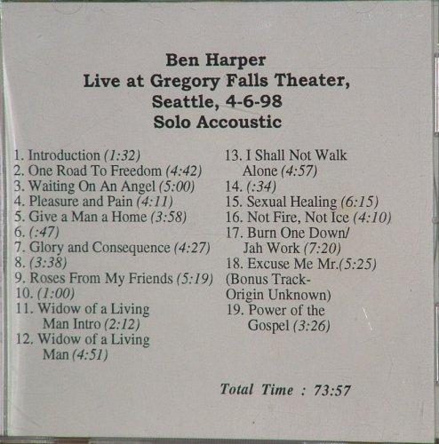 Ben Harper - Acoustic - Zortam Music