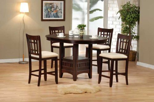 5-Piece Dinette Set By Acme Furniture