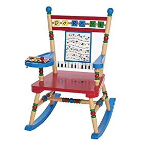 Childs Rocking Chair-Musical Kids Rocker - Free Shipping