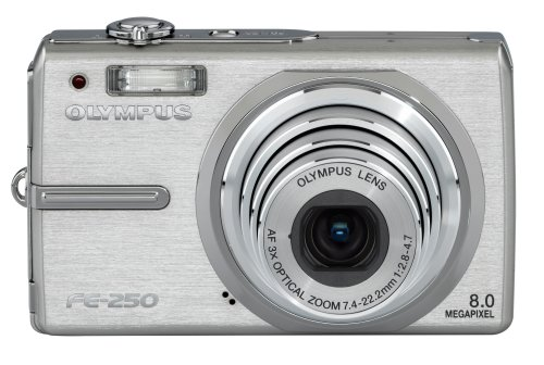 Olympus Stylus FE-250 8.0MP Digital Camera with 3x Optical Zoom