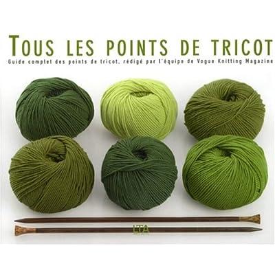 Tous les points de tricot