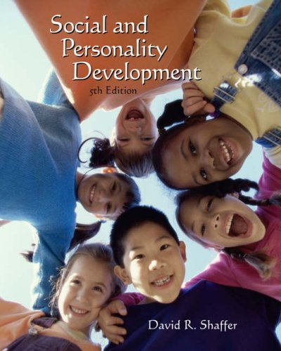 Social and Personality Development (with InfoTrac )