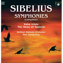 Sibelius: Sinfonien 5-CD Walletbox