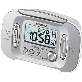 CASIO wave ceptor 電波目覚し時計 DQD-70J-8JF (福島・九州両局対応) カレンダー表示