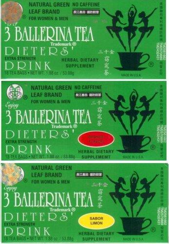 Drinking Dieters Tea