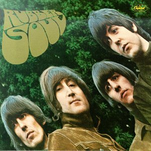 Original album cover of Rubber Soul by The Beatles