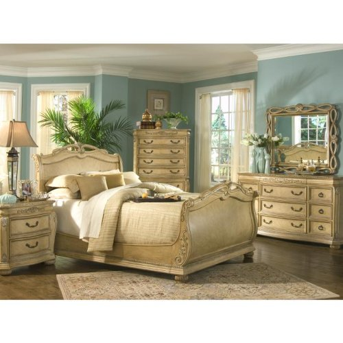 Home Office Furniture: Cindy Crawford Home Villa D'Este Light 5 Pc
