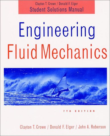 fluid mechanics white 7th edition solution manual