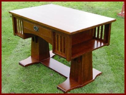 Library Table-Cherry (Natural Finish)