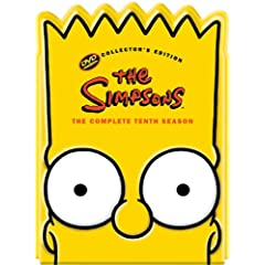 Bart Simpson Head Pack DVD