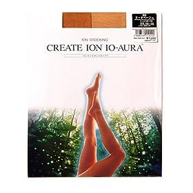 【クリックでお店のこの商品のページへ】CREATE ION イオーラ イオンストッキング ヌードベージュL CIS-101 02-L: ヘルス&ビューティー
