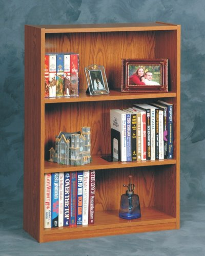 Ameriwood 03153GM 3-Shelf Bookcase - Manor Oak