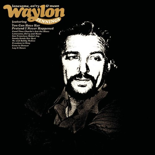 WAYLON JENNINGS - Lonesome, On