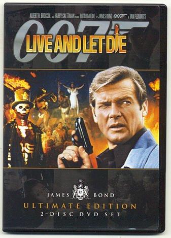 James Bond 007 (Фильм #07) - Живи и дай умереть / Live and Let Die (Гай Хэмилтон) [1973 г., Боевик / триллер, DVDRip 2.1G, AC3] [Ultimate Edition]