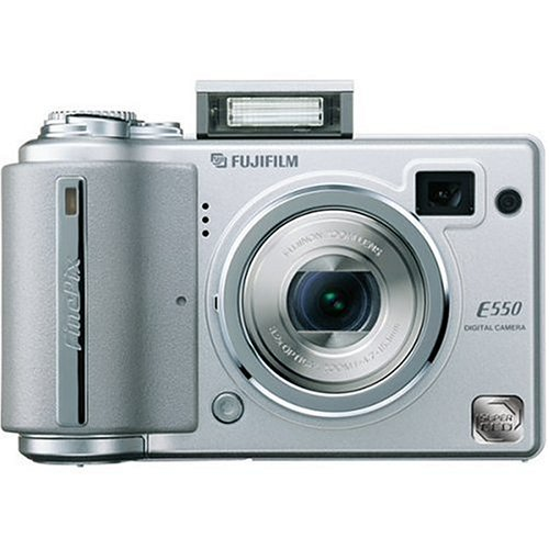 Remanufactured Fujifilm Finepix E550 6.12MP Digital Camera with 4x Optical Zoom