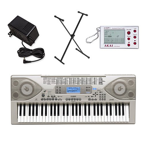 digital piano gallery casio ctk900 keyboard with power supply stand and akai digital chord finder. Black Bedroom Furniture Sets. Home Design Ideas
