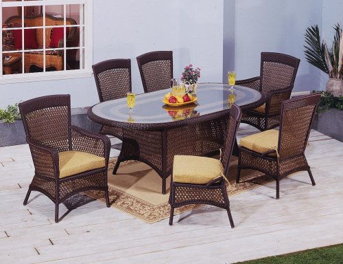 Georgian Oval Dining Set of Seven