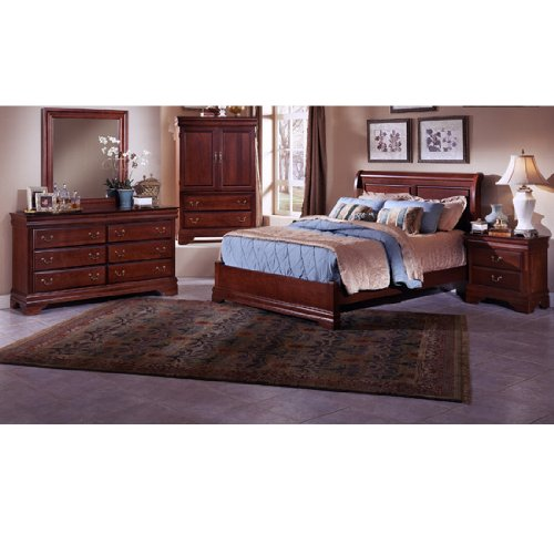 Home fice Furniture Barnburner Cherry Low Profile