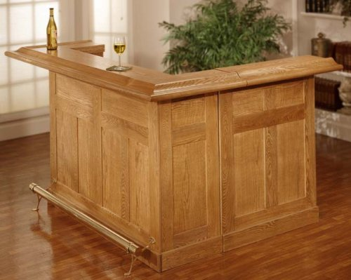 Hillsdale Furniture Large Oak Bar Set 625XX