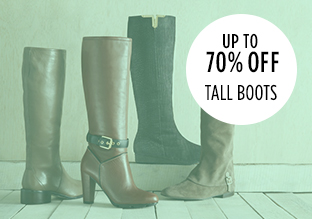 70% Off Women Tall Boots