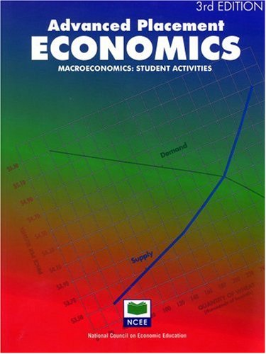 Advanced Placement Economics: Microeconomics: Student Activities