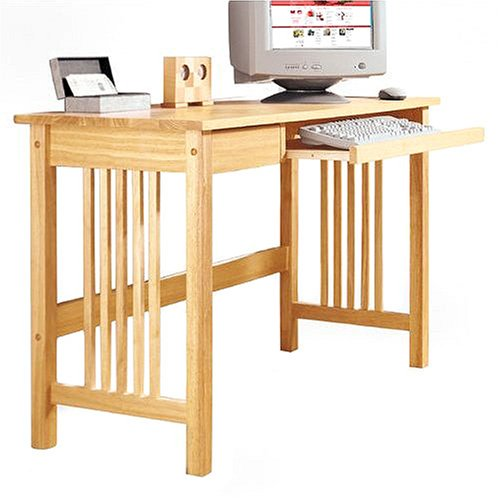 Mission Computer Desk - Natural