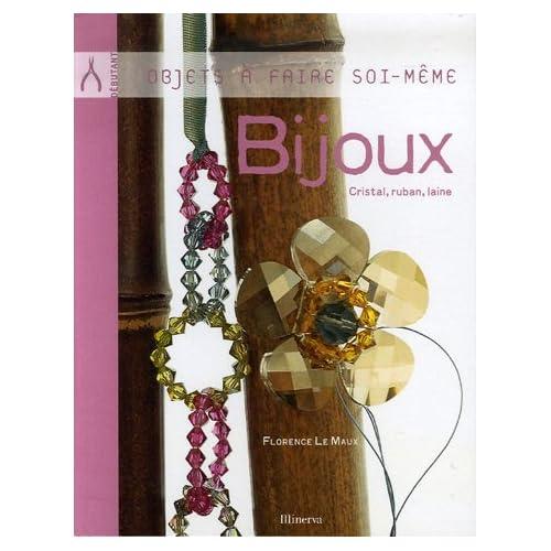 Bijoux : Cristal, ruban, laine