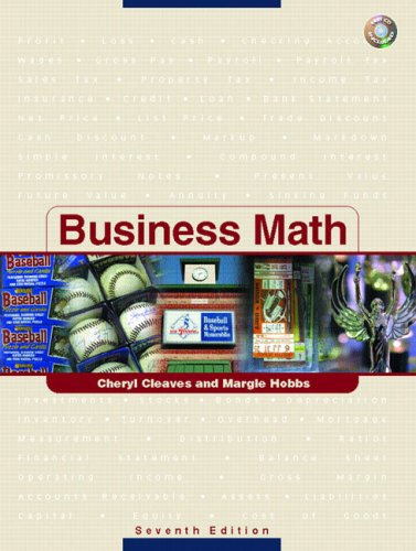 Business Math (7th Edition)