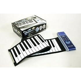 61鍵盤ロールアップピアノ