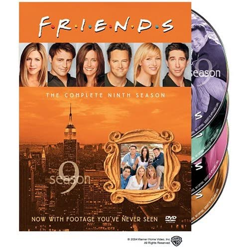 Friends season 9 cover poster