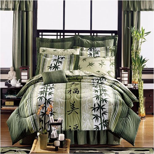asian theme bedding japanese style haiku design complete bed in a