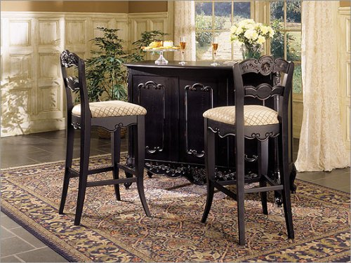 Powell Furniture Hills of Provence Bar Set 896-473 / 896-432