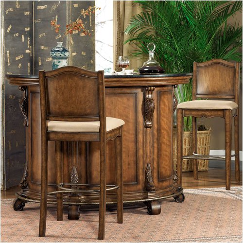 Powell Furniture Bourbon Street Bar Set 579 Series