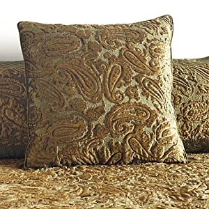 The Bombay Company Store: Fern Paisley Euro Pillow